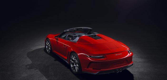 포르쉐, '911 스피드스터(911 Speedster)' 스페셜 에디션 생산 계획 발표