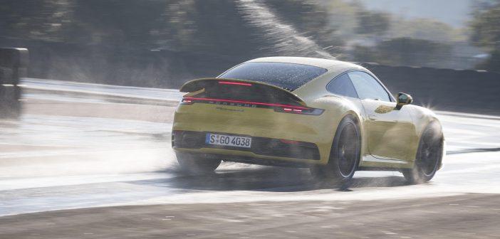 포르쉐, 신형 911에 최초 탑재된 포르쉐 웻 모드 공개