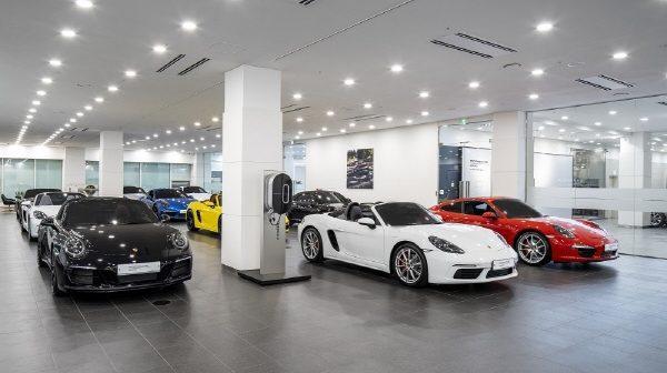 포르쉐 독일 본사가 승인한 국내 두번째 포르쉐 인증중고차 센터