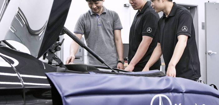 메르세데스-벤츠 코리아, 자동차 정비 전문가 키우는 'AMT 프로그램' 13기 모집